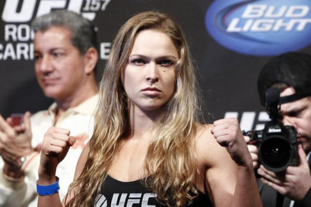 Ronda Rousey to Jon Jones: 'I'm Owed a Little Bit of Help, Dammit'