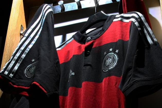 Adidas Releases New Away World Cup Kits for Germany, Spain, Argentina, Russia