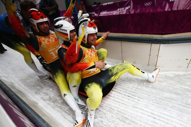 Luge Medal Results and Times from Olympics 2014 Team Relay