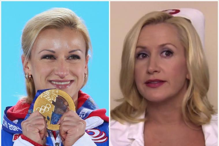 Russia's Tatiana Volosozhar Looks Eerily Similar to Angela from 'The Office'