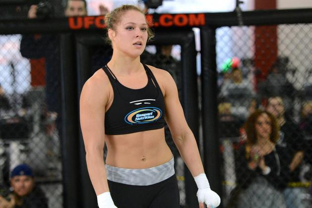 Ronda Rousey to Jon Jones: 'I'm Owed a Little Bit of Help, Dammit'