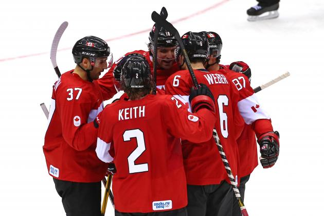 Canada vs. Norway: Score and Recap from 2014 Winter Olympics