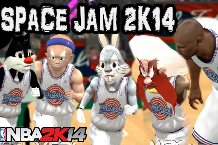User Creates Terrific 'Space Jam' Mod for NBA 2K14