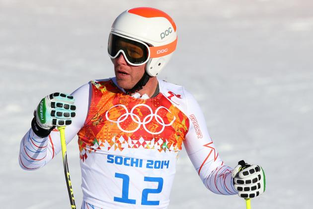 Bode Miller Fails to Medal in Men's Super Combined Final at Sochi 2014 Olympics