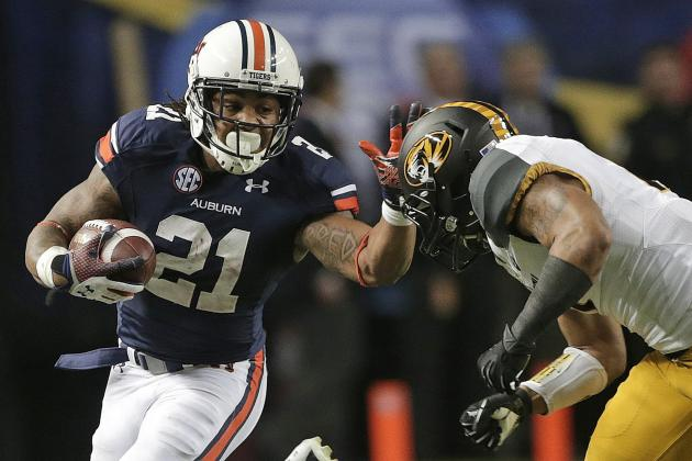 Tre Mason NFL Draft 2014: Highlights, Scouting Report for St. Louis Rams RB