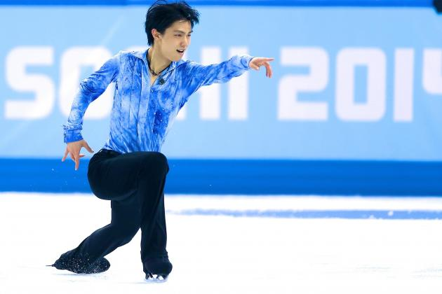 Yuzuru Hanyu Sets World Record in Figure Skating Short Program at 2014 Olympics