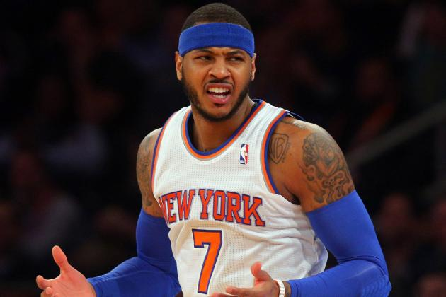Knicks Biggest Problem Isn't Carmelo Anthony, It's Flawed Supporting Cast