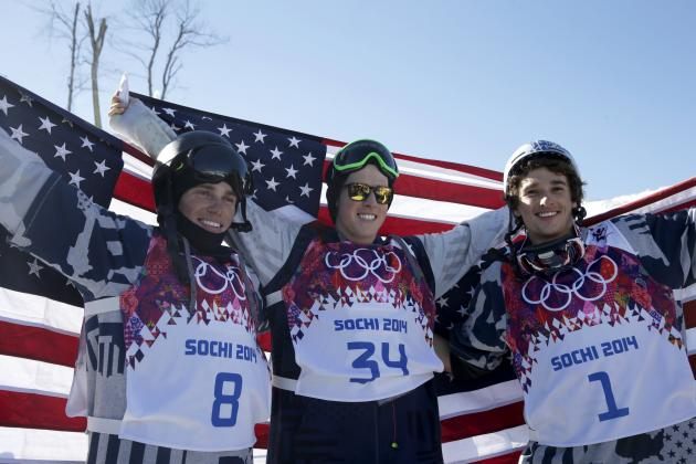 Olympic Slopestyle 2014: Charting Medalists and Highlights from Day 6 Action