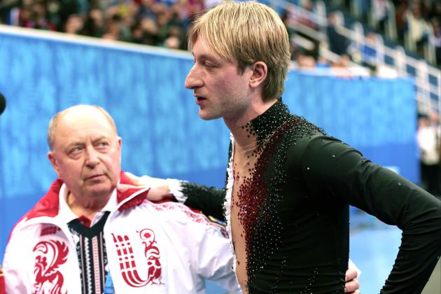 Evgeni Plushenko Makes a Painful Exit Amid Controversy at Sochi
