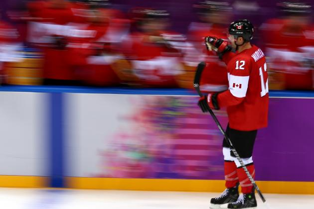 Marleau Helps Canada Triumph in Olympic Opener