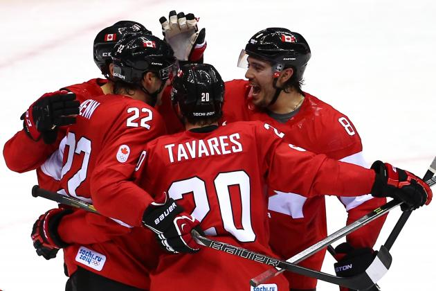 Olympic Hockey 2014: Schedule, TV Info and Team Predictions for Day 7