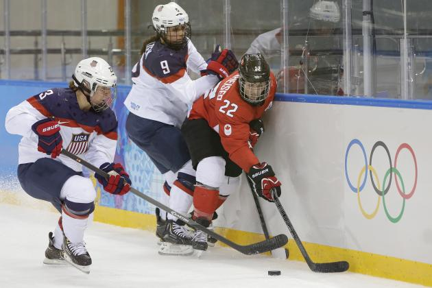 USA vs. Canada Women's Hockey: Why 2014 Olympics Need Gold-Medal Rematch