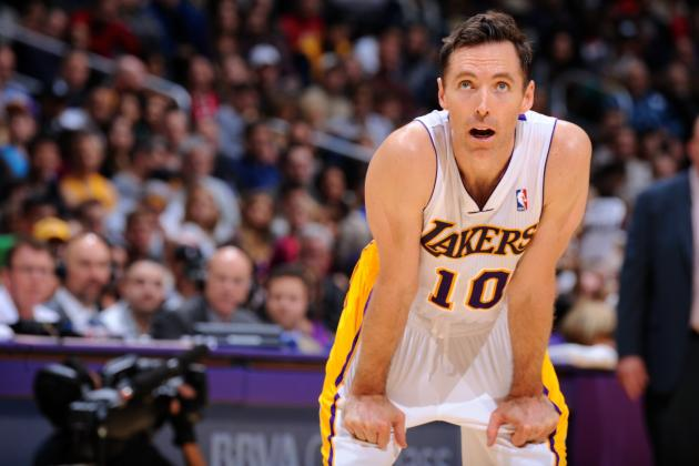 Steve Nash Admits He'll Never Be the Same Player Ever Again