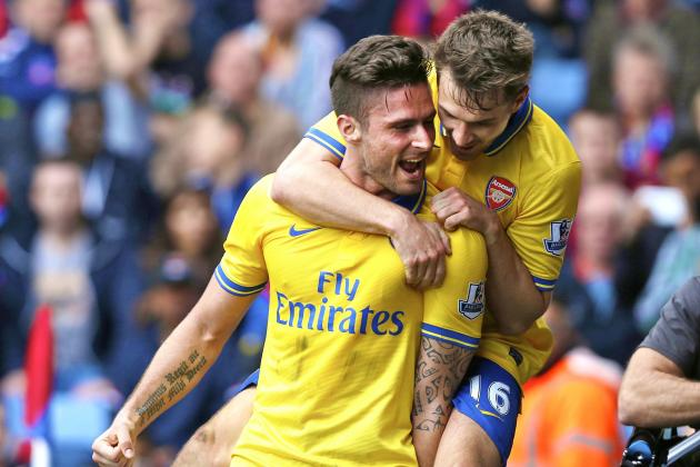 Olivier Giroud's Big-Game Form Needs Addressing by Arsenal Manager Arsene Wenger