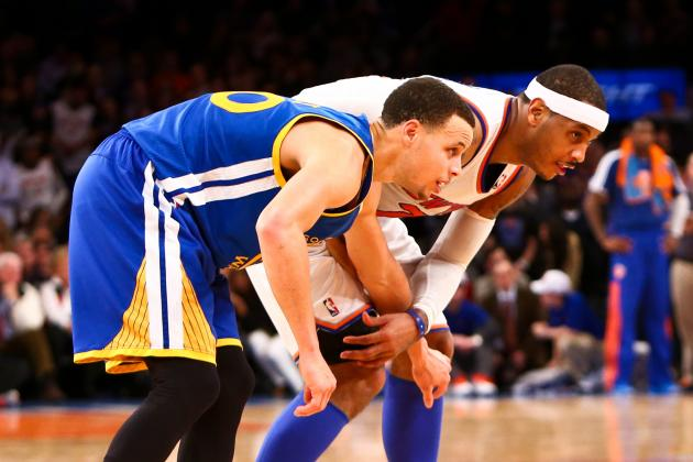 Golden State Warriors Are Perfect Dark Horse for Carmelo Anthony Trade