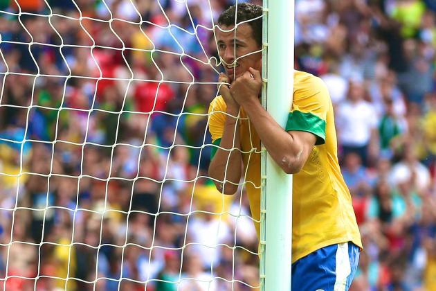 Fred's Injury Form Could Give Leandro Damiao New Chance with Selecao Brasileira