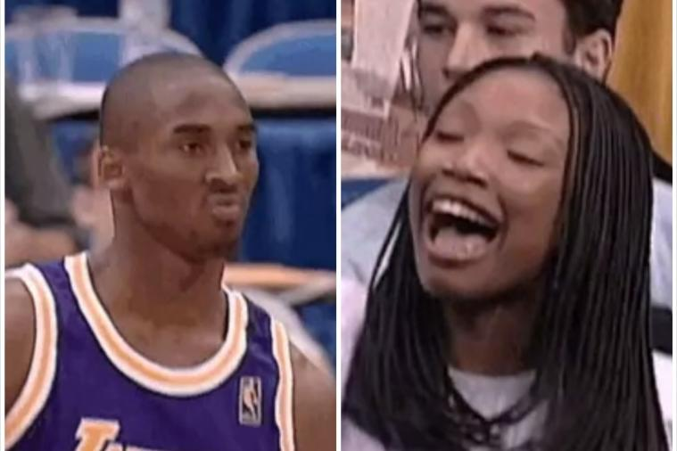 Throwback Thursday: Kobe Bryant Mean Mugs, Impresses Brandy at 1997 Dunk Contest