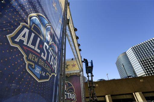 2014 NBA All-Star Game Warmups Revealed
