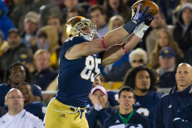 Troy Niklas NFL Draft 2014: Highlights, Scouting Report for Cardinals TE