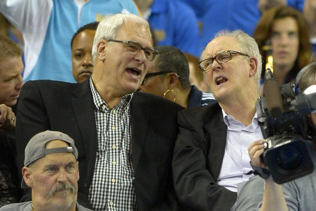 Phil Jackson Calls out Dick Bavetta for Alleged No-Call on James Harden