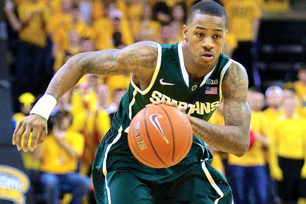 Keith Appling Injury: Updates on Michigan State Guard's Wrist and Return