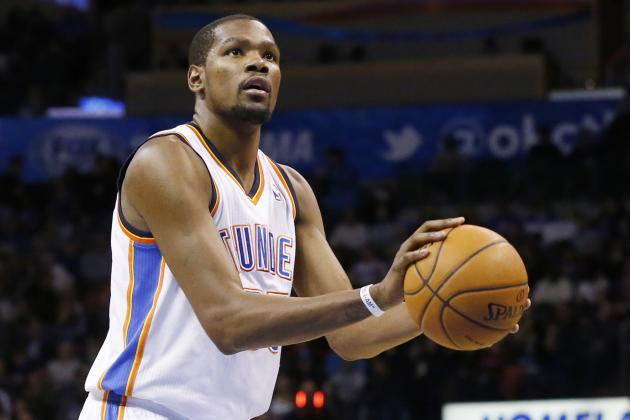 Does History Say Kevin Durant Can Keep Up His Scoring Streak?