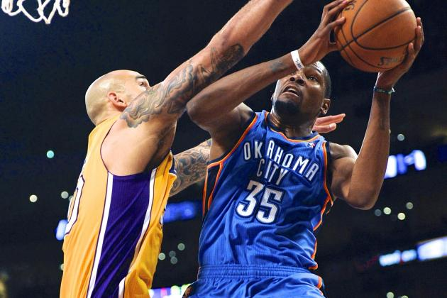 Oklahoma City Thunder vs. Los Angeles Lakers: Live Score and Analysis