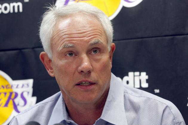 Mitch Kupchak Says LA Lakers Won't Trade for Immediate Help, Won't Tank Either