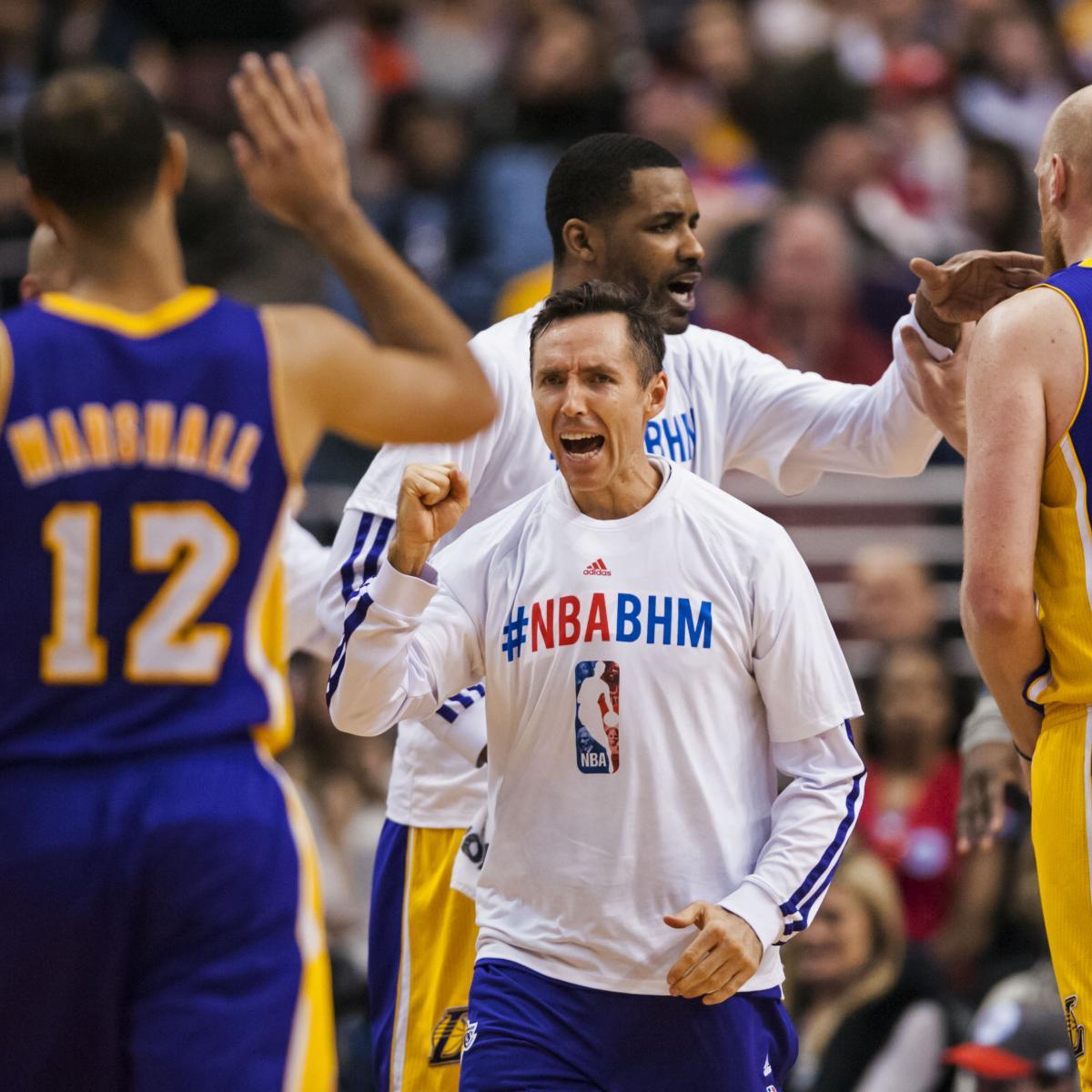 Grading Los Angeles Lakers Players At 2014 NBA All-Star