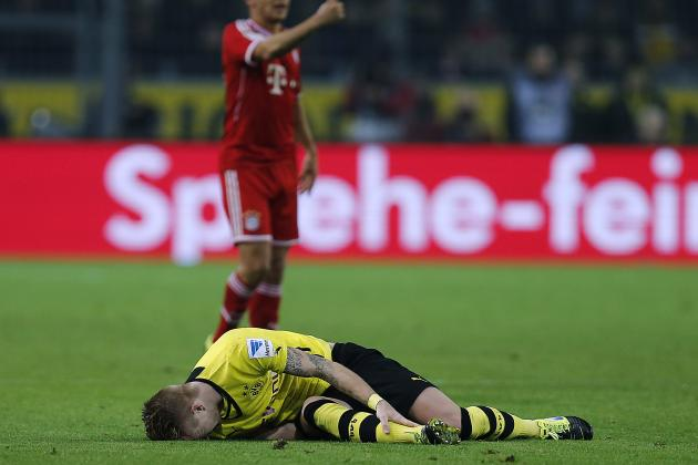 Dortmund's Latest Injury Crisis Highlights Their Lack of Squad Depth