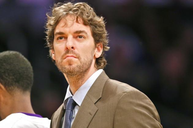 Los Angeles Lakers Should Trade Pau Gasol