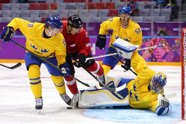 Sweden vs. Switzerland: Score and Recap from 2014 Winter Olympics