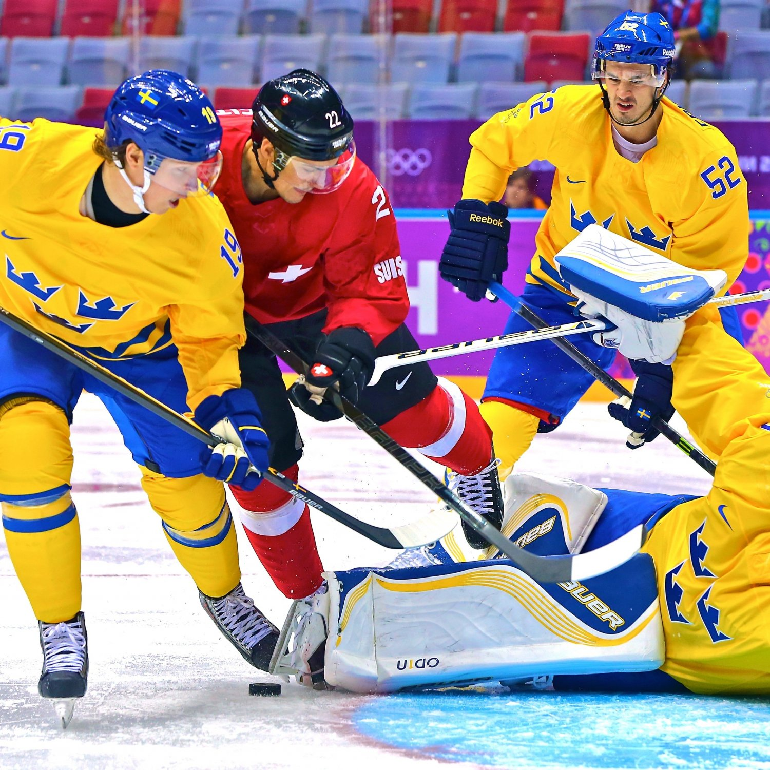 Sweden vs. Switzerland Olympic Hockey 2014: Live Score, Highlights and ...