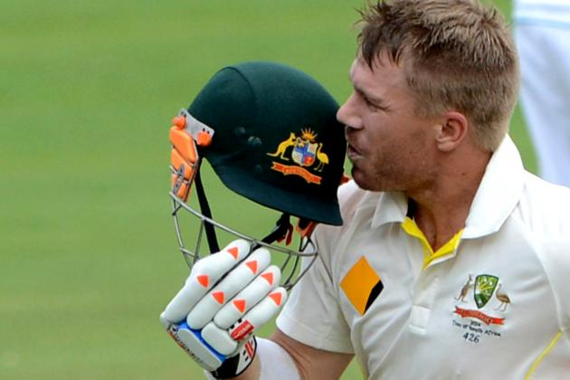GIF: South Africa Drop David Warner, He Makes Huge Century as Australia Dominate