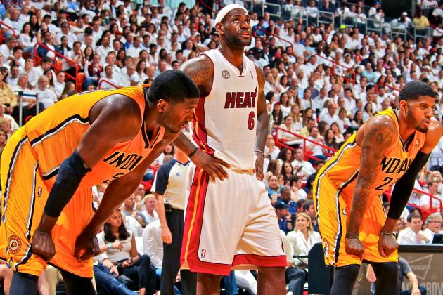 All-Star Weekend Forces LeBron, Wade and Bosh to Engage with 'Enemy' Pacers