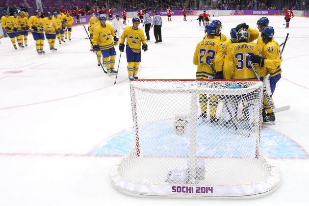 Sweden vs. Switzerland Olympic Hockey 2014: Live Score, Highlights and Reaction
