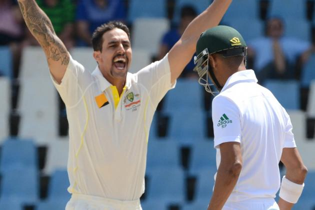 South Africa vs. Australia, 1st Test: Day 3 Video Highlights, Scorecard, Report
