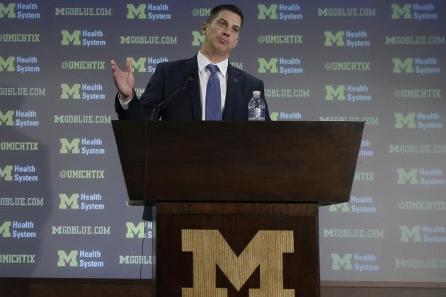 Michigan OC Doug Nussmeier Faces Major Challenges in Spring Ball