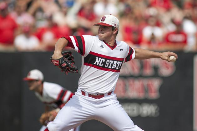 No. 1 MLB Prospect Carlos Rodon Plans to Add CWS Title to Stellar College Resume