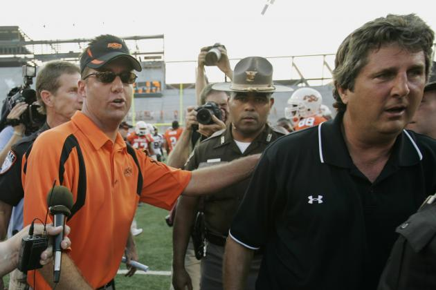 Mike Leach, Mike Gundy and More Coaches Rip Proposed Defensive Substitution Rule