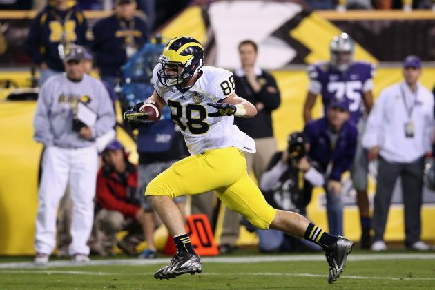Michigan Football: How Loss of Jake Butt Will Impact Wolverines' 2014 Offense
