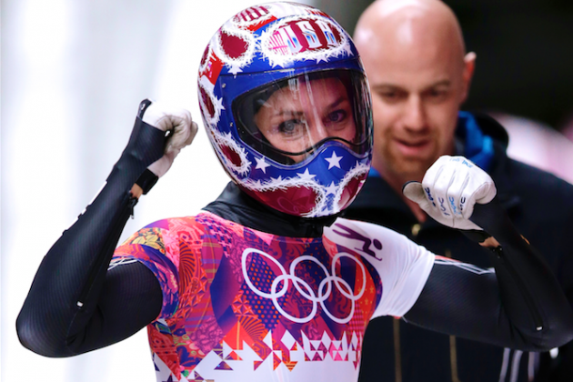 Skeleton Medal Results for Women's Singles and Men's Singles Qualifying Times