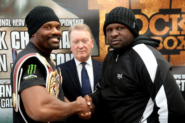 Dereck Chisora vs. Kevin Johnson: Del Boy Needs Impressive Win to Keep Momentum