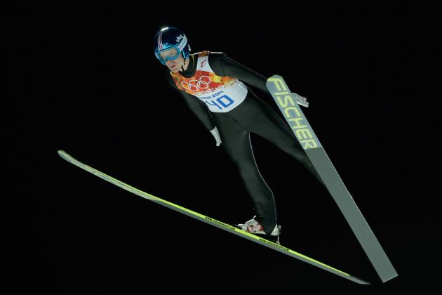 Olympic Ski Jumping 2014: Men's Individual Large Hill Qualifying Results