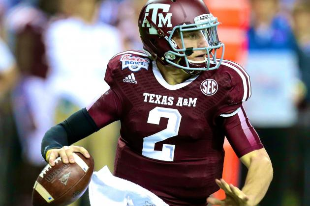 Johnny Manziel Says Texans Passing on Him at No. 1 Would Be Huge Mistake