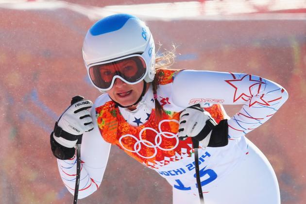 Julia Mancuso Does Not Medal in Women's Super-G at Sochi 2014 Olympics