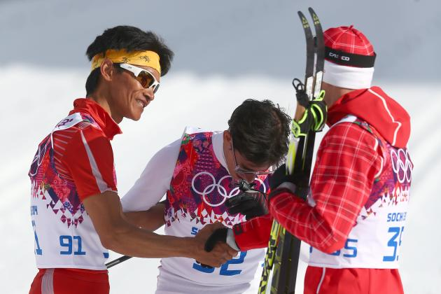 Gold Medalist Waits for 28 Minutes to Shake Hands with Last-Place Finisher