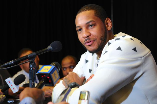 Carmelo Anthony Willing to Take Pay Cut to Lure Free Agents to New York Knicks