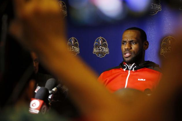 LeBron James: 'I Am Unrecruitable' in Free Agency