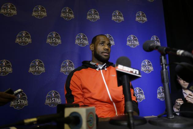 LeBron James: 'There's No Reason I Can't Be' Greatest Player of All Time